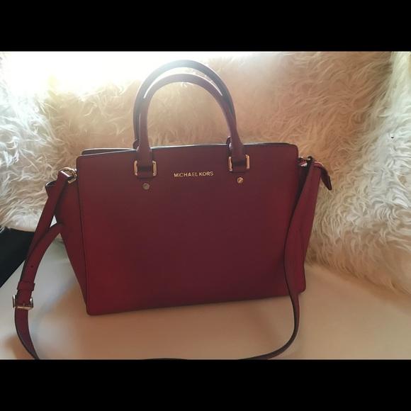 597de391d4d5d5 Michael Kors Bags | Limited Edition Selma Saffiano Satche | Poshmark